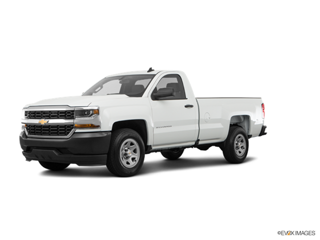New Car 2017 Chevrolet Silverado 1500 Regular Cab Work Truck