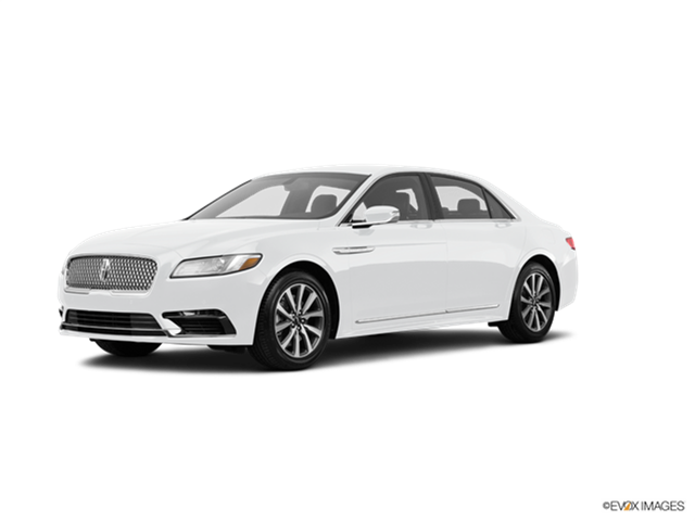 New Car 2017 Lincoln Continental Black Label