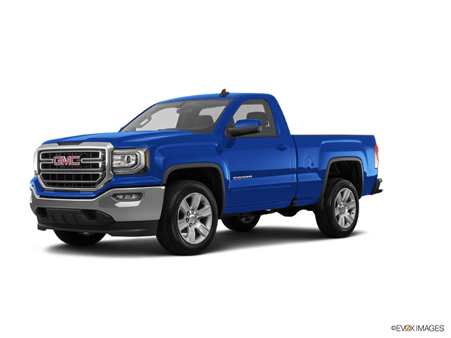 Best Safety Rated Trucks of 2017 - 2017 GMC Sierra 1500 Regular Cab