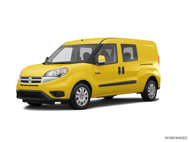 Most Fuel Efficient Vans/Minivans of 2017 - 2017 Ram ProMaster City
