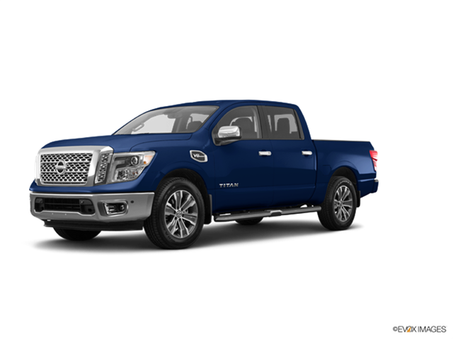 New Car 2017 Nissan Titan Crew Cab SV