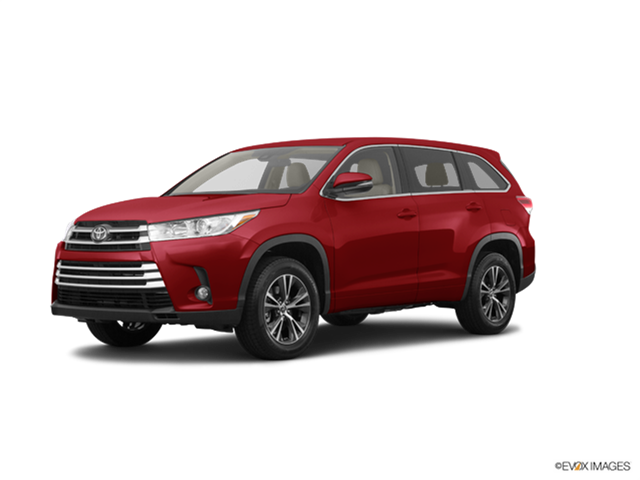 New Car 2017 Toyota Highlander LE Plus