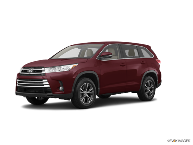 New Car 2017 Toyota Highlander LE