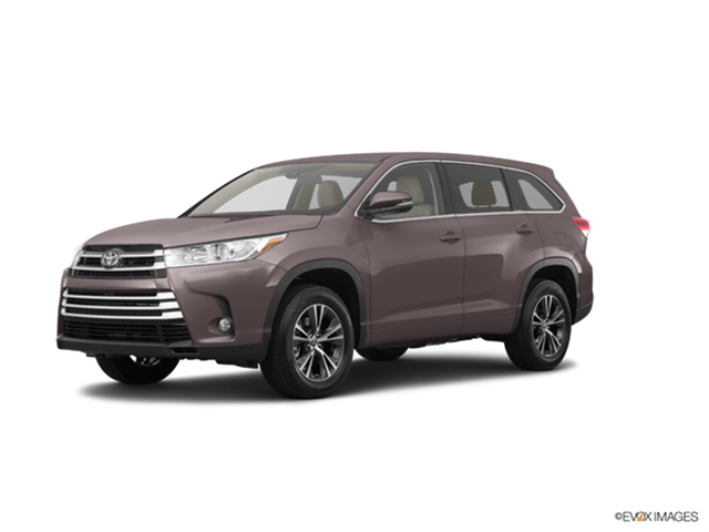 New Car 2019 Toyota Highlander LE Plus