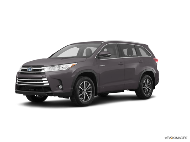 New Car 2018 Toyota Highlander Hybrid Limited