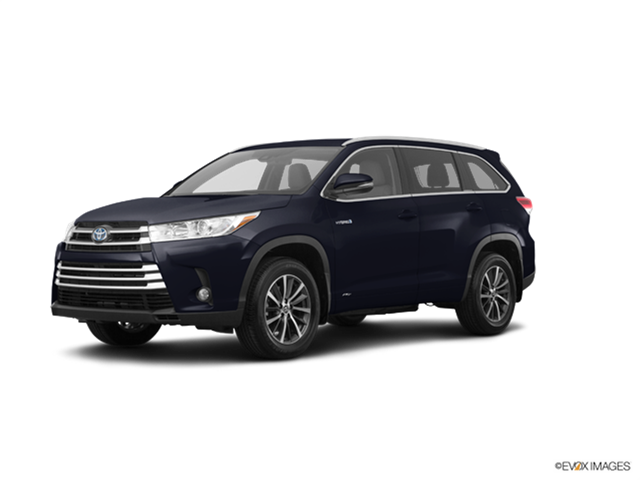 New Car 2018 Toyota Highlander Hybrid LE