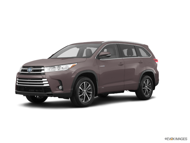 Best Safety Rated Crossovers of 2018 - 2018 Toyota Highlander Hybrid