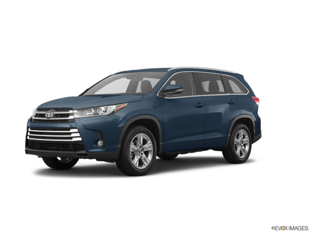New Car 2017 Toyota Highlander Limited Platinum