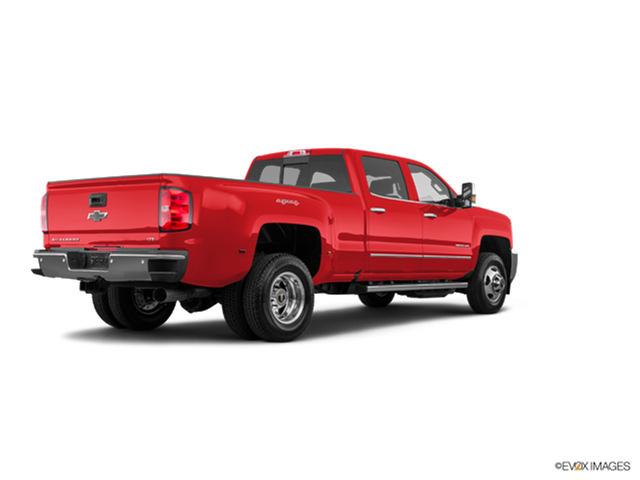 New Car 2018 Chevrolet Silverado 3500 HD Crew Cab LTZ