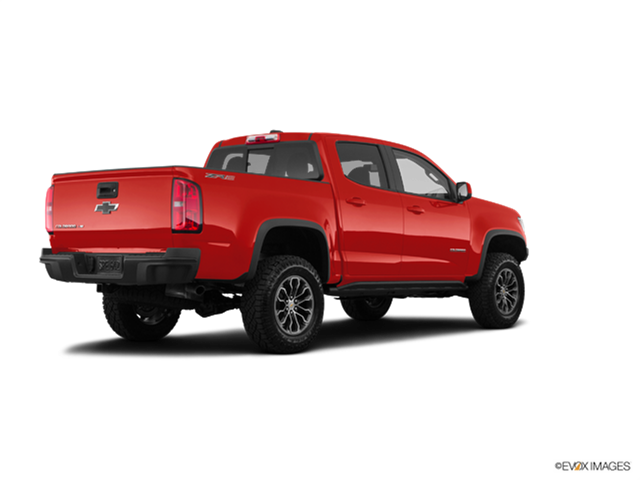 New Car 2017 Chevrolet Colorado Crew Cab ZR2