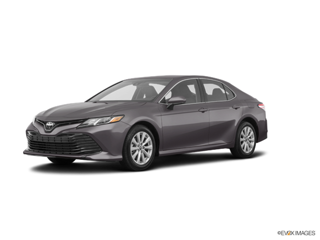 2018 toyota camry le new car prices kelley blue book. Black Bedroom Furniture Sets. Home Design Ideas