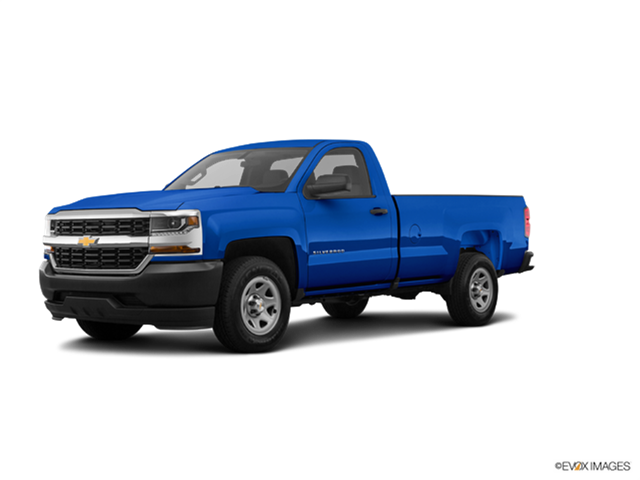 Best Safety Rated Trucks of 2018 - 2018 Chevrolet Silverado 1500 Regular Cab