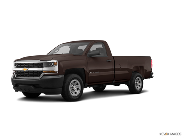 New Car 2018 Chevrolet Silverado 1500 Regular Cab Work Truck