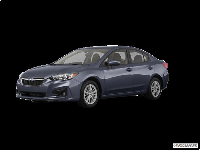 2018 Subaru Impreza 2 0i Premium New Car Prices Kelley Blue Book