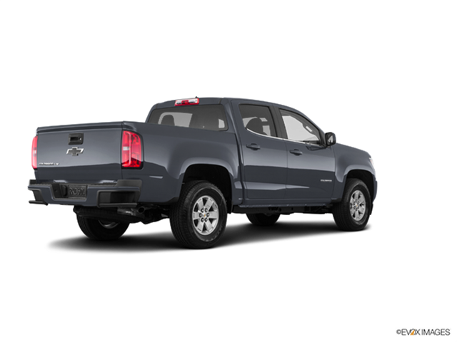 New Car 2018 Chevrolet Colorado Crew Cab Work Truck