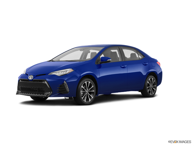 New Car 2018 Toyota Corolla XSE