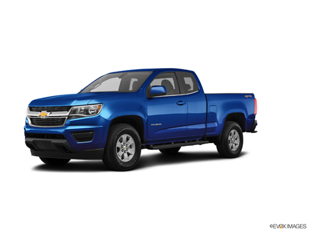 New Car 2018 Chevrolet Colorado Extended Cab Work Truck
