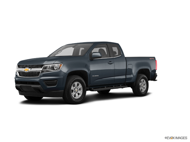 New Car 2018 Chevrolet Colorado Extended Cab