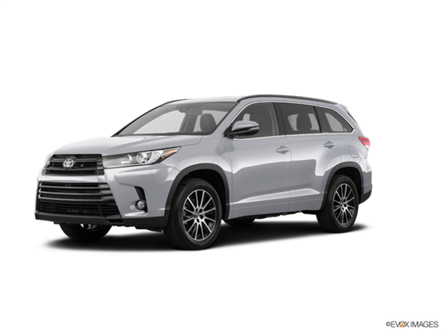 New 2018 Toyota Highlander Limited