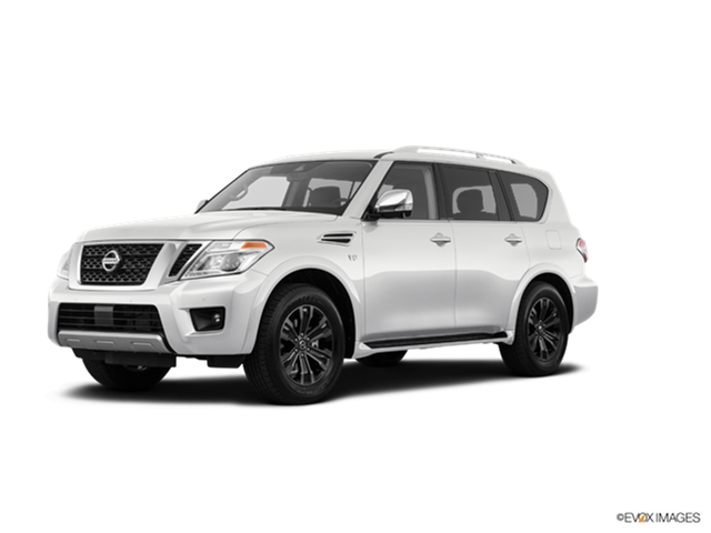 New Car 2018 Nissan Armada Platinum Reserve