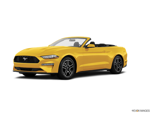 Most Popular Convertibles of 2018 - 2018 Ford Mustang