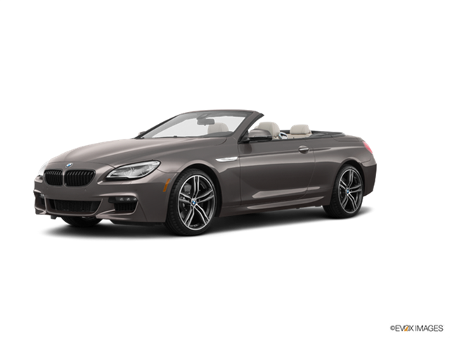 Most Fuel Efficient Convertibles of 2018 - 2018 BMW 6 Series