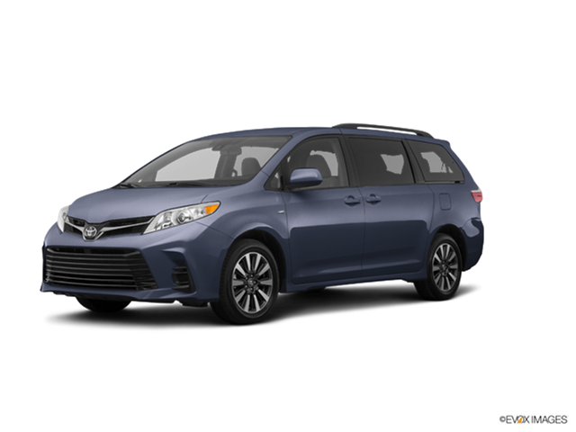 New Car 2018 Toyota Sienna Limited