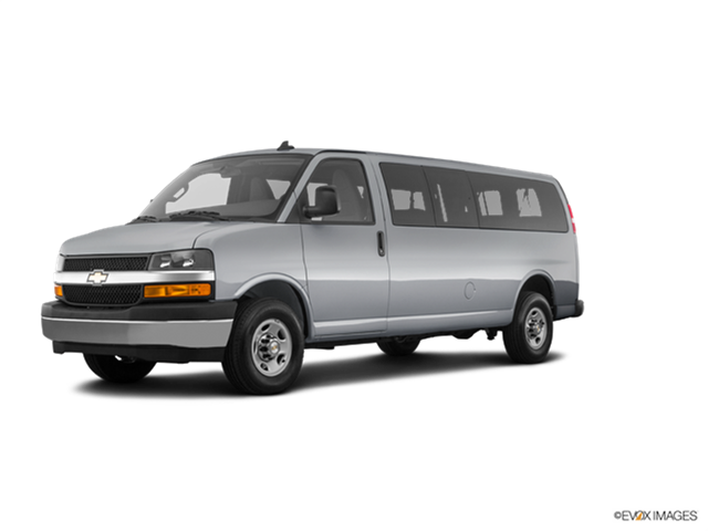New Car 2018 Chevrolet Express 3500 Passenger LT Extended