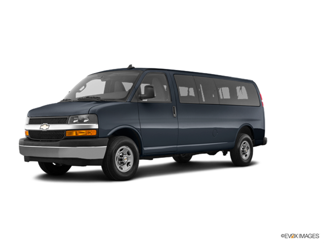 New Car 2018 Chevrolet Express 3500 Passenger LS Extended
