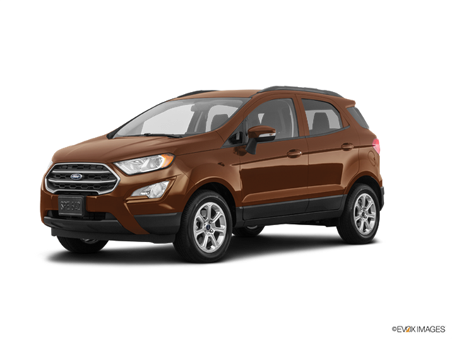 New Car 2018 Ford EcoSport SE
