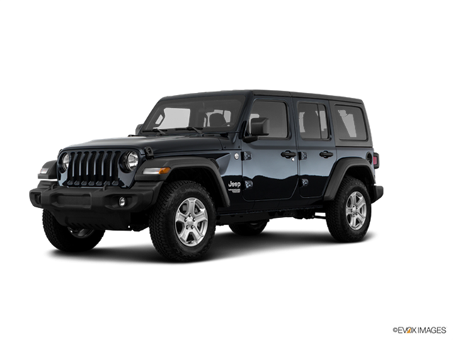 Kelley Blue Book Jeep >> 2019 Jeep Wrangler Unlimited Sport New Car Prices | Kelley ...