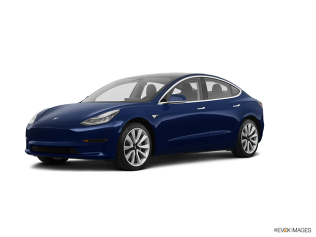 Most Fuel Efficient Sedans of 2018 - 2018 Tesla Model 3