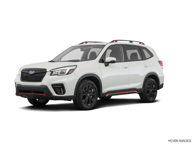 2019 Subaru Forester Sport New Car Prices Kelley Blue Book