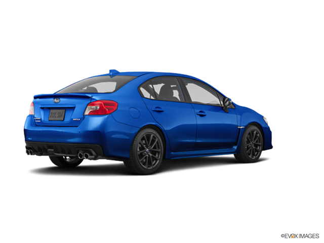 New Car 2019 Subaru WRX WRX Limited