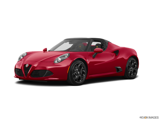 Top Consumer Rated Luxury Vehicles of 2018 - 2018 Alfa Romeo 4C Spider