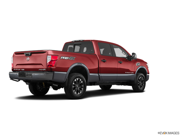 2018 nissan titan xd crew cab pro 4x new car prices kelley blue book. Black Bedroom Furniture Sets. Home Design Ideas