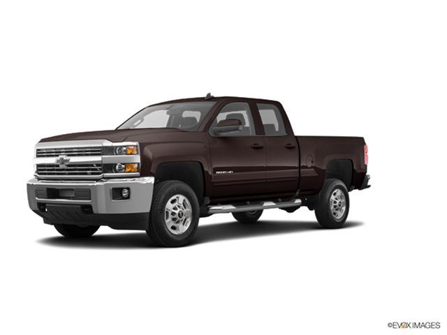 New Car 2018 Chevrolet Silverado 2500 HD Double Cab LT
