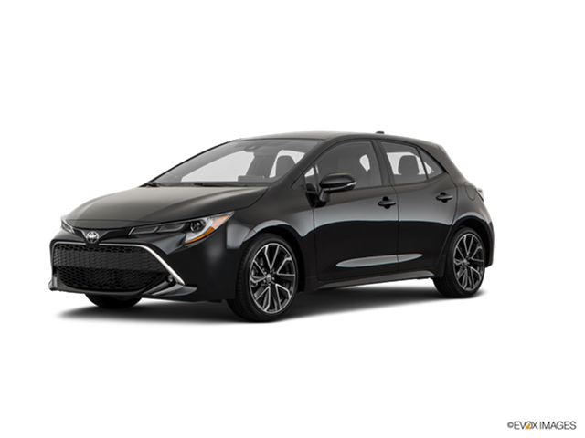 2019 Toyota Corolla Hatchback Xse New Car Prices Kelley Blue Book