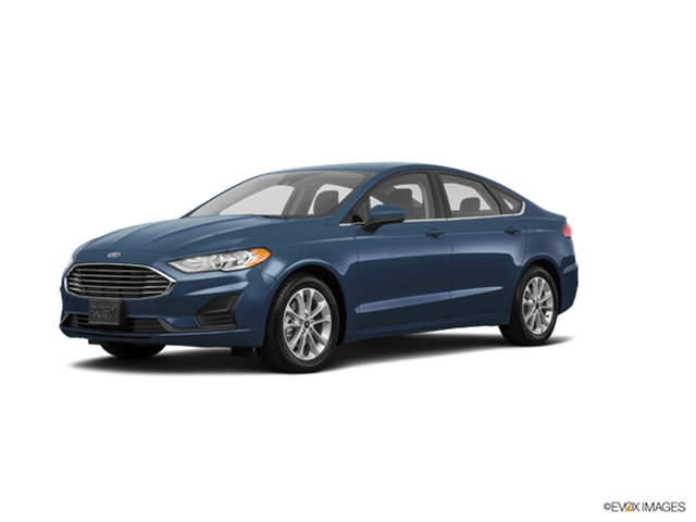 New Car 2019 Ford Fusion SE