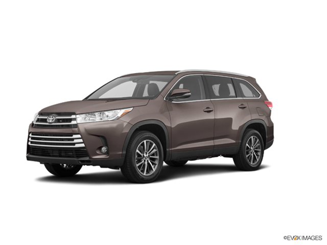 New Car 2019 Toyota Highlander XLE