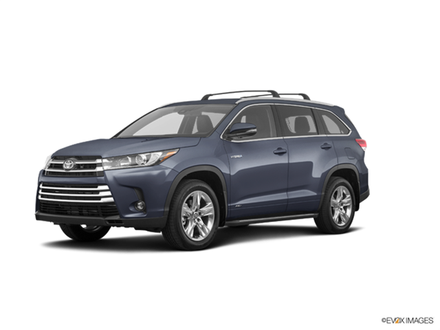 New Car 2019 Toyota Highlander Hybrid XLE