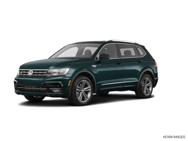 New Car 2019 Volkswagen Tiguan 2.0T SEL R-Line Black