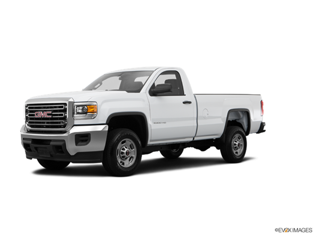 2015 GMC Sierra 3500 HD Regular Cab
