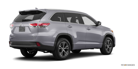 2016 toyota highlander xle new car prices kelley blue book. Black Bedroom Furniture Sets. Home Design Ideas
