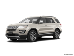 2017 New Ford Explorer 4WD Platinum