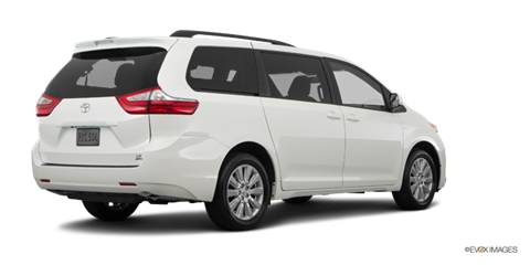 2017 toyota sienna xle new car prices kelley blue book. Black Bedroom Furniture Sets. Home Design Ideas