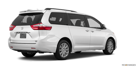 2017 toyota sienna limited new car prices kelley blue book. Black Bedroom Furniture Sets. Home Design Ideas