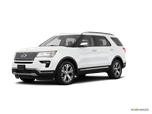 2018 New Ford Explorer 4WD Platinum