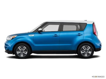 2018 kia soul ev pricing ratings reviews kelley blue book. Black Bedroom Furniture Sets. Home Design Ideas