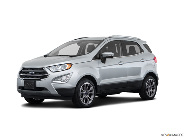 2018 ford ecosport titanium new car prices kelley blue book. Black Bedroom Furniture Sets. Home Design Ideas